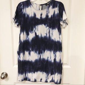 Lulus tie dye shift dress